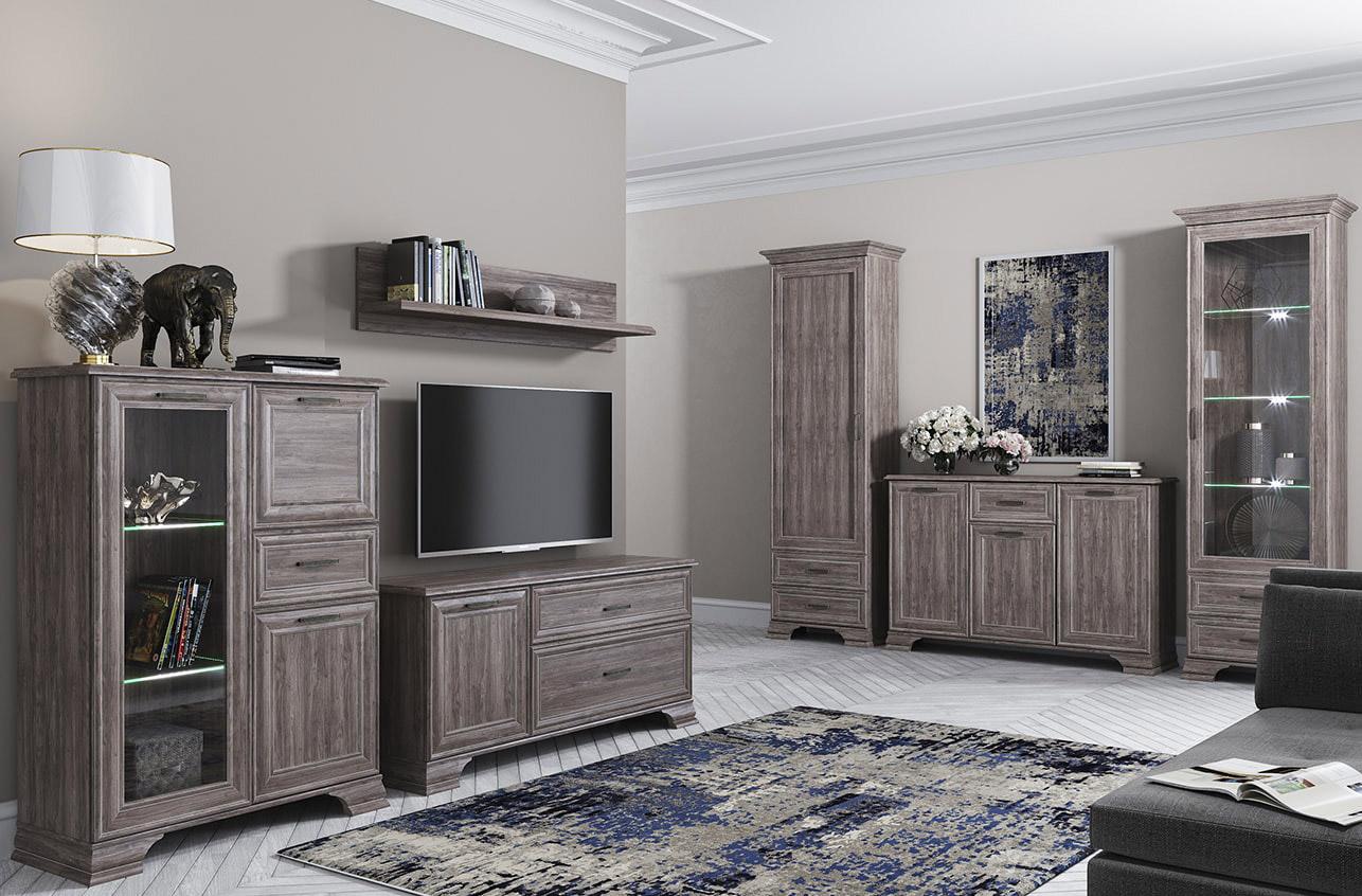 Мебель Тиффани Орех элия темный