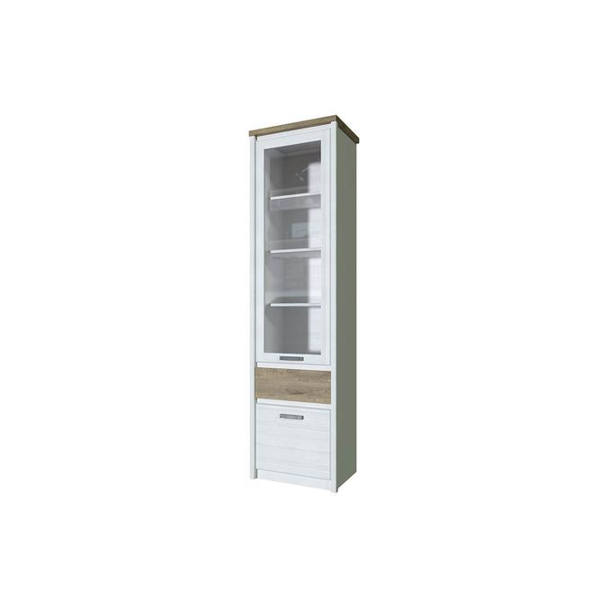 Шкаф с витриной «Provence» 1V1D1S