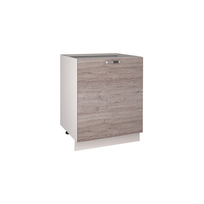 Кухонный шкаф-стол «Алеся» 1D/60-F1 - дуб анкона