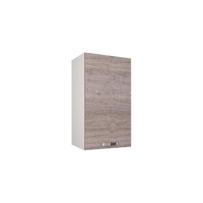 Шкаф настенный «Алеся» 1D/40-F1 - дуб анкона