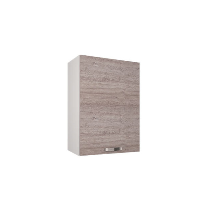 Шкаф настенный «Алеся» 1D/50-F1 - дуб анкона