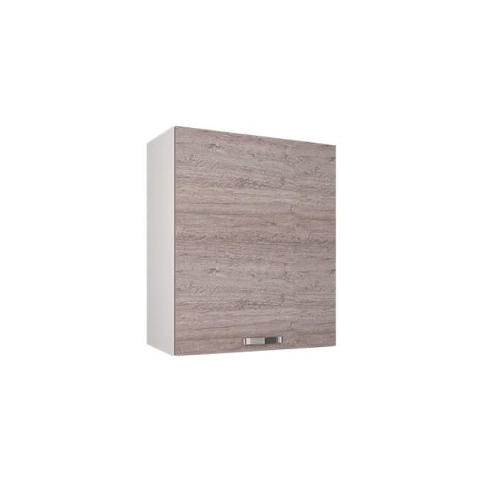 Шкаф настенный «Алеся» 1D/60-F1 - дуб анкона