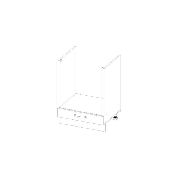 Кухонный шкаф открытый «Алеся» 1S/60 - сосна винтаж