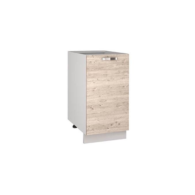 Кухонный шкаф-стол «Алеся» 1D/40-F1 - сосна винтаж
