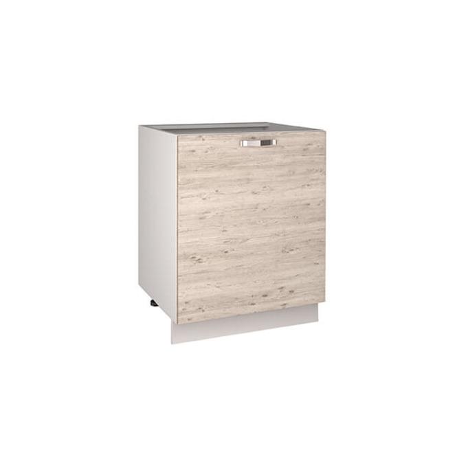 Кухонный шкаф-стол «Алеся» 1D/60-F1 - сосна винтаж