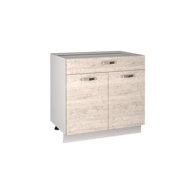 Кухонный шкаф-стол «Алеся» 2D1S/80 - сосна винтаж