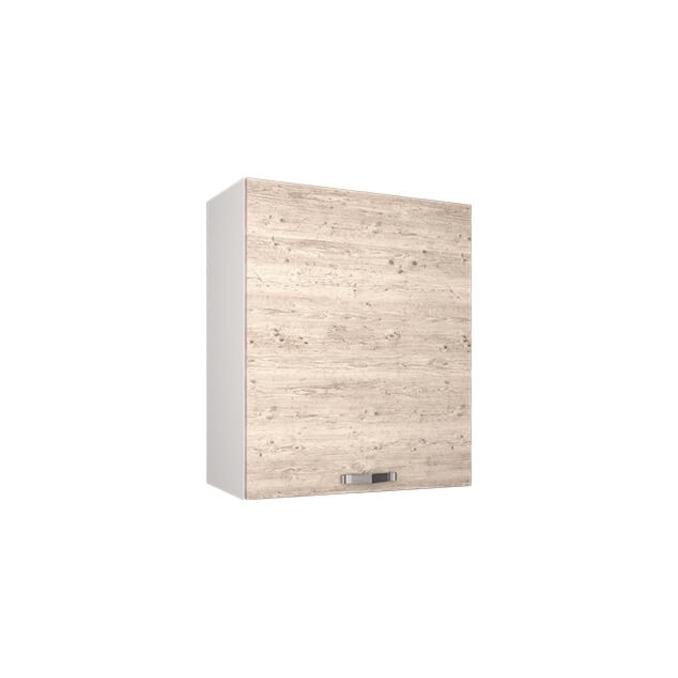 Шкаф настенный «Алеся» 1D/60-F1 - сосна винтаж