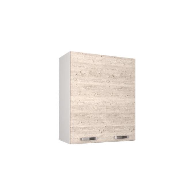 Шкаф настенный «Алеся» 2D/60-F1 - сосна винтаж