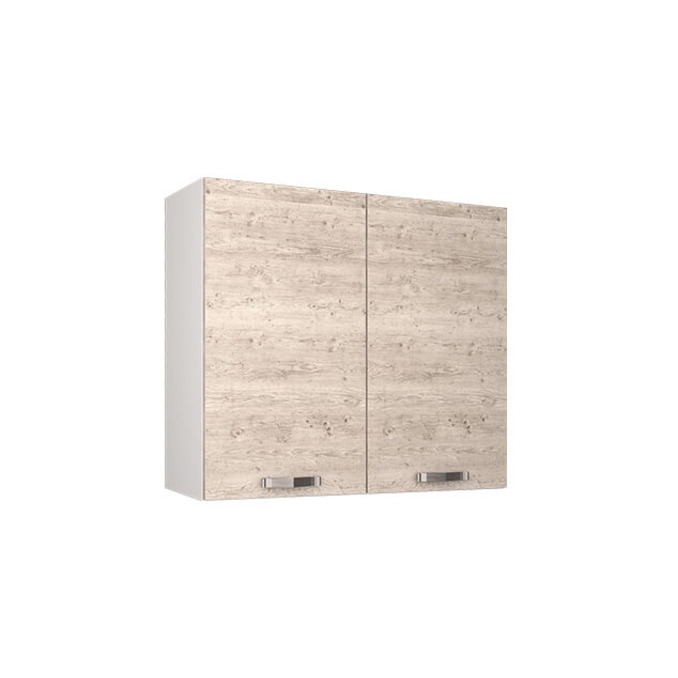 Шкаф настенный «Алеся» 2D/80-F1 - сосна винтаж