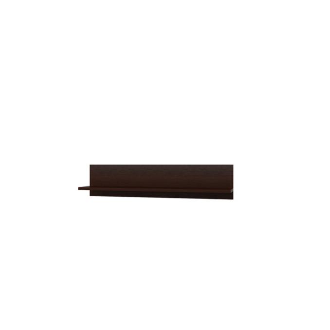 Полка настенная «Денвер» BT 120 см - венге