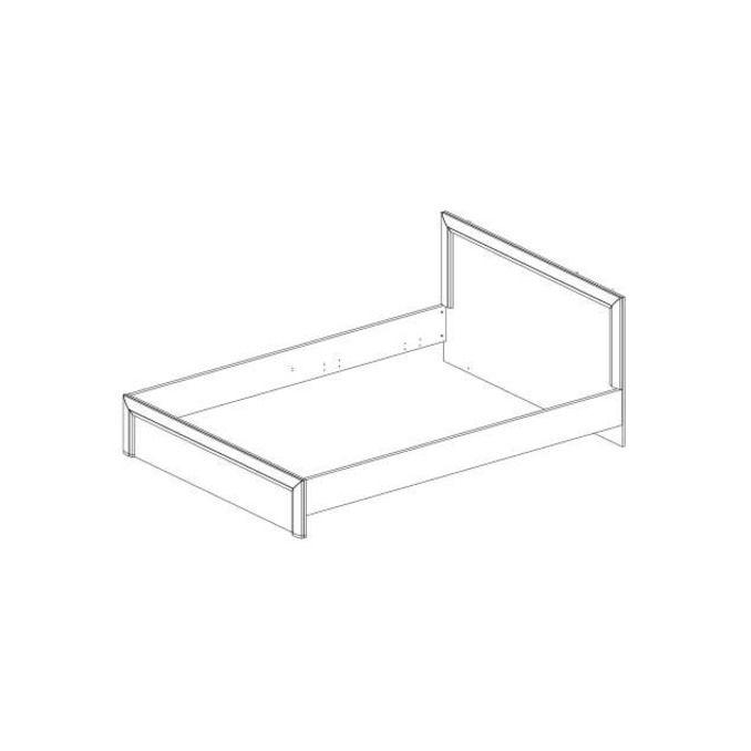 Кровать «Денвер» 90 односпальная - венге