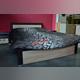 Кровать «Денвер» 140 полуторная с подъемником - венге