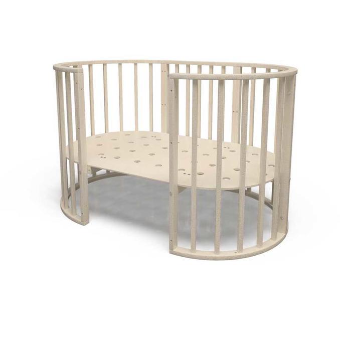 Детская кроватка Кроша 7 в 1 слоновая кость