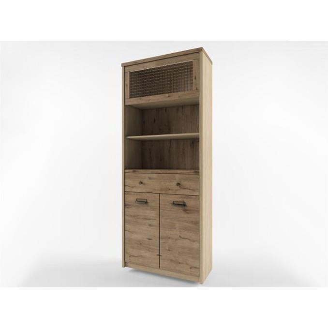 Шкаф открытый «Дизель» 1V1D1S2N/D3 с мини-витриной