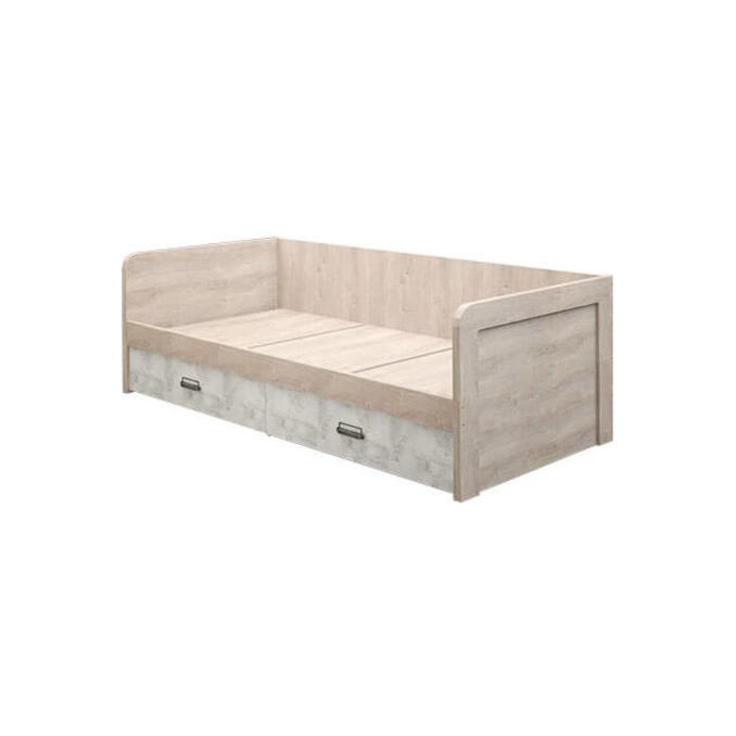 Кровать-тахта «Дизель» 90-2/D2 односпальная с ящиком