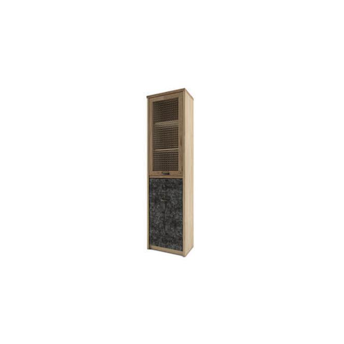 Шкаф-пенал с витриной «Дизель» 1V1D1S/D3