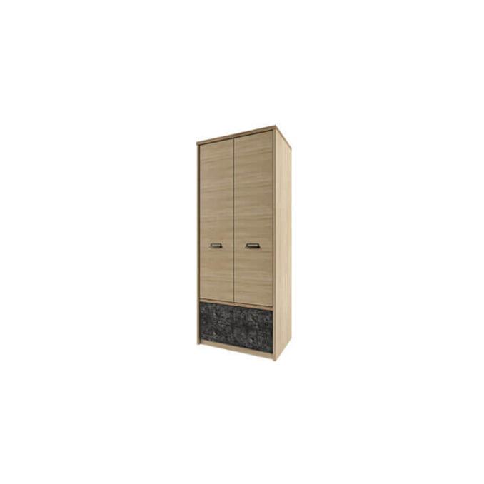 Шкаф «Дизель» 2DG2S/D3 двухстворчатый с ящиками