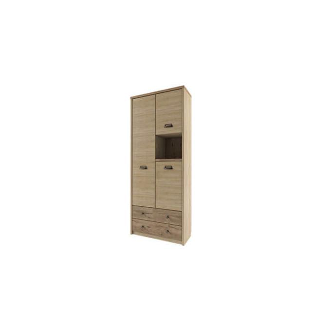 Шкаф «Дизель» 3D2SN/D1 трехстворчатый с ящиками и полками
