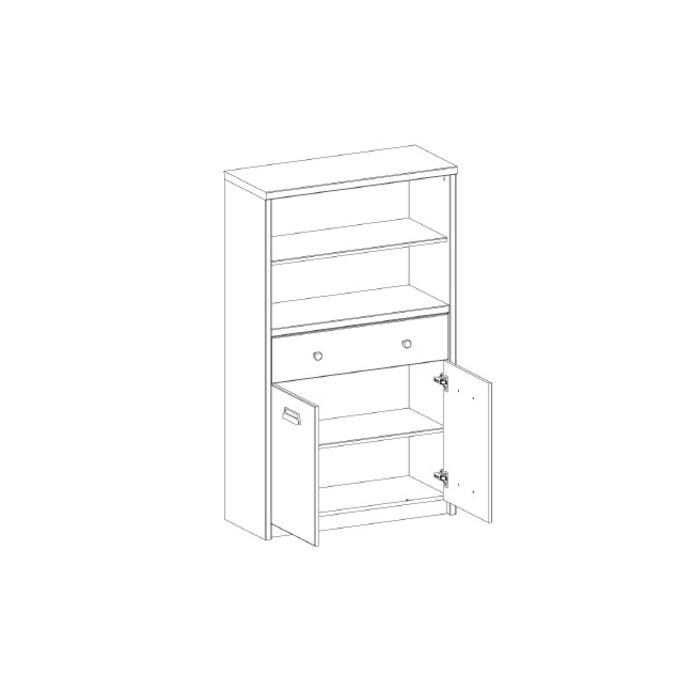 Шкаф открытый «Дизель» 2D1S2NL/D1