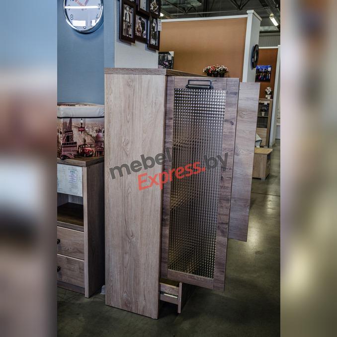 Шкаф комбинированный с витриной «Дизель» 1V1D1SL/D3 - верхний