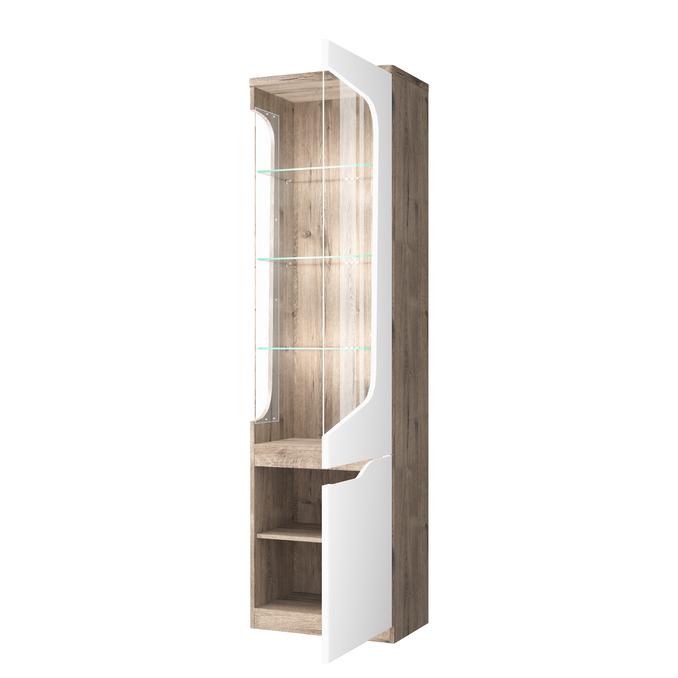 Шкаф с витриной «Эвора» 1V1D P