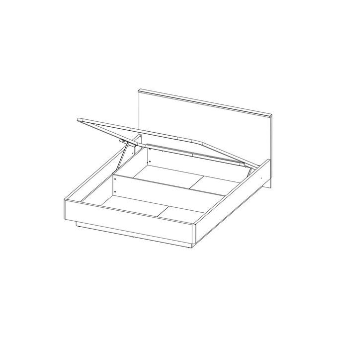 Кровать «Джаггер» 160 двуспальная с подъемником