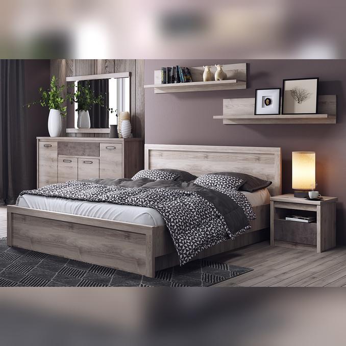 Кровать «Джаз» 140 полуторная с подъемником