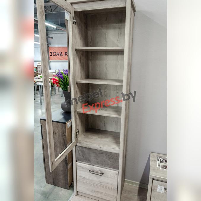 Шкаф «Джаз» 1V1D1S с витриной