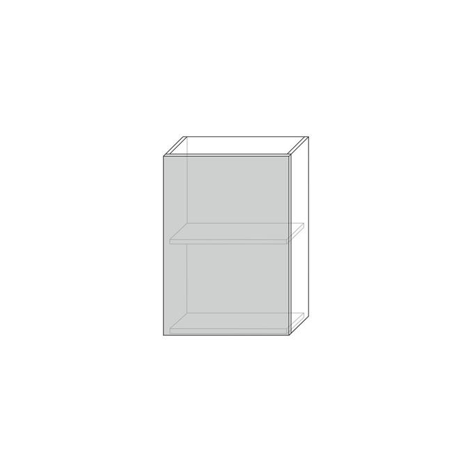 Шкаф «Тапио» для сушки посуды 1D/50 белый/дуб снежный