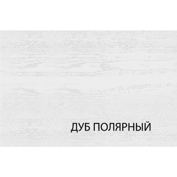 Шкаф пенал «Гранд» 2DG1S белый/дуб полярный