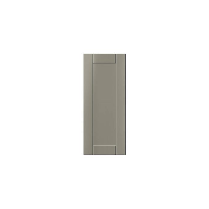 Шкаф угловой «Авеню» 1D/30-51 белый/светло-серый сатин