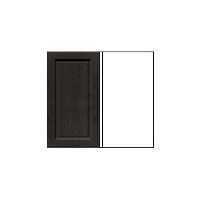 Шкаф «Гранд» угловой 1D/80-51 белый/дуб английский
