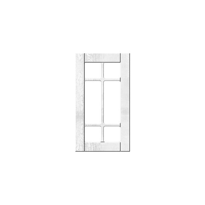 Шкаф «Тапио» угловой 1VU/60 белый/дуб полярный