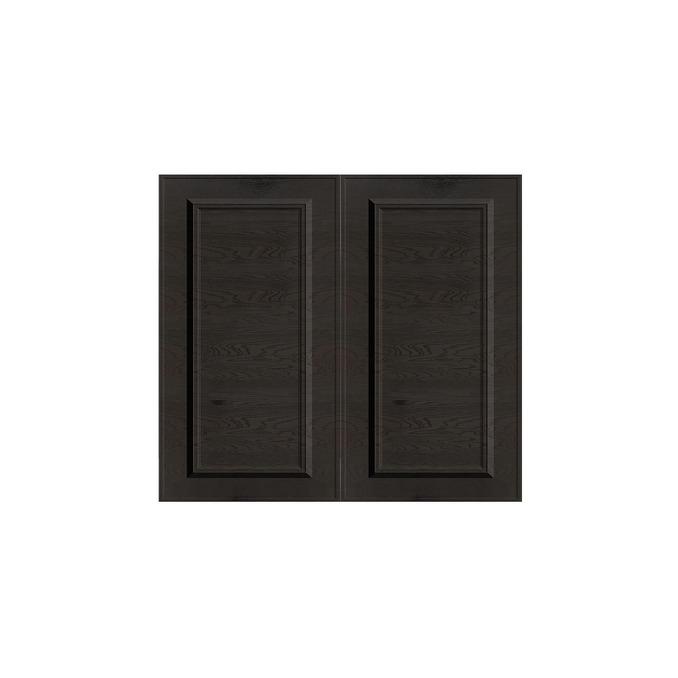 Шкаф «Гранд» 2D/80х51 белый/дуб английский