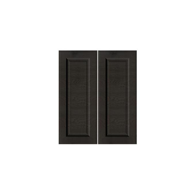 Шкаф «Гранд» 2D/60-46 серый/дуб английский