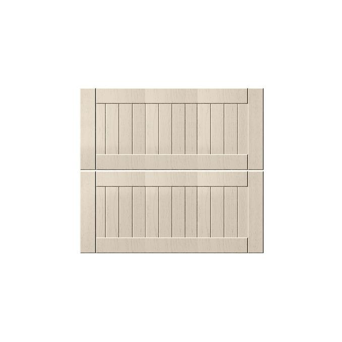 Шкаф «Тапио» 2S/80-51 белый/дуб снежный