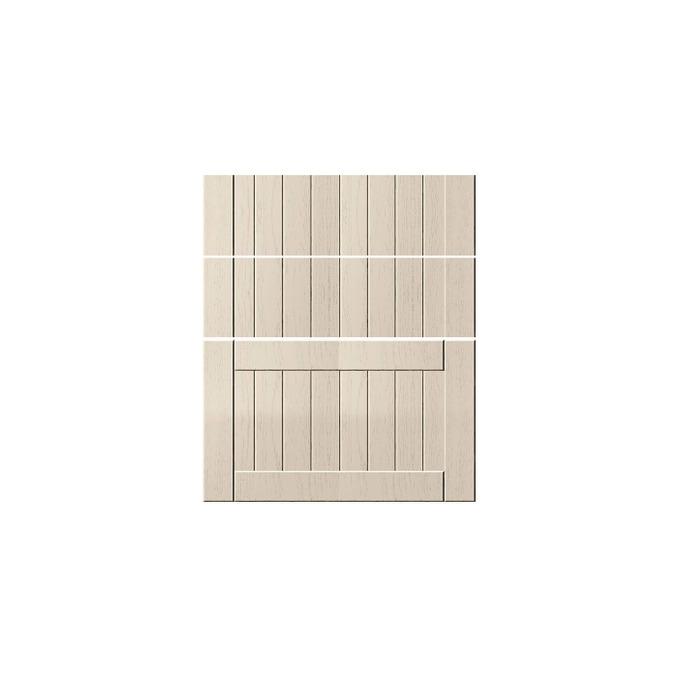 Шкаф «Тапио» 3S/60-51 белый/дуб снежный