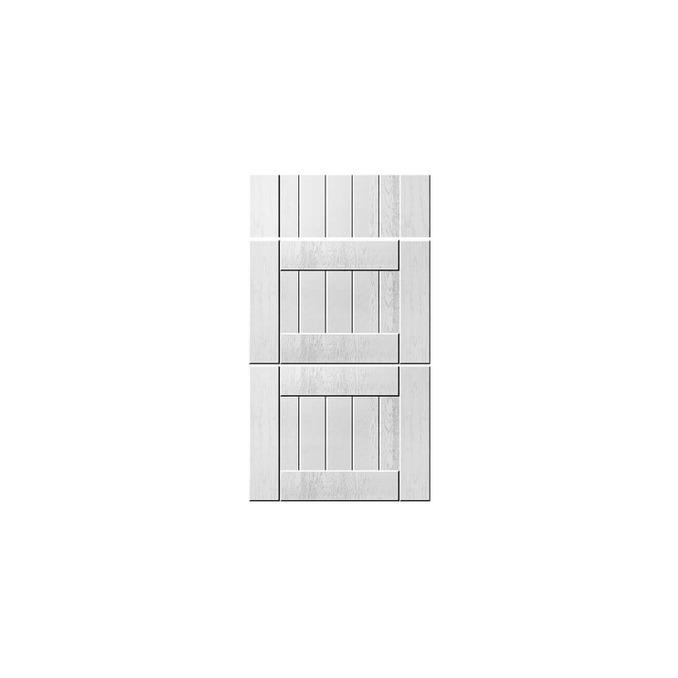 Шкаф «Тапио» 3S/40 серый/дуб полярный