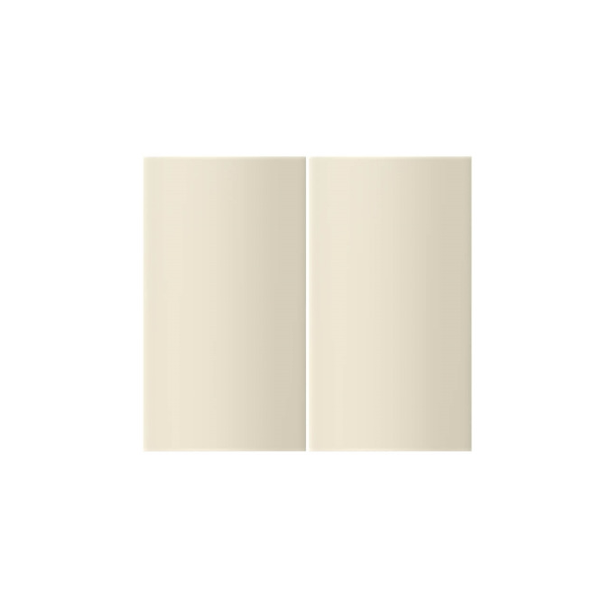 Шкаф «Бостон» настенный 2D/80-29-2 белый/ваниль