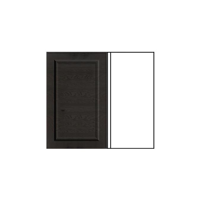 Шкаф «Гранд» под мойку 1D/80 серый/дуб английский