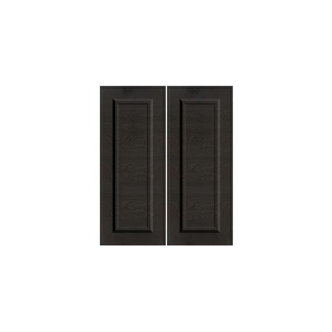 Шкаф под мойку «Гранд» 2D/60 серый/дуб английский