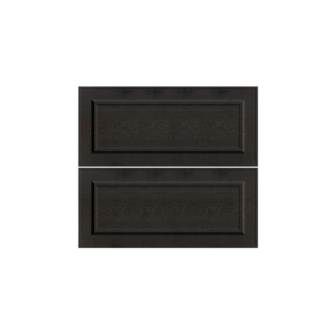 Шкаф «Гранд» 2S/80 белый/дуб английский