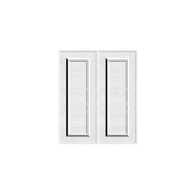 Шкаф под мойку «Гранд» 2D/60 серый/дуб полярный