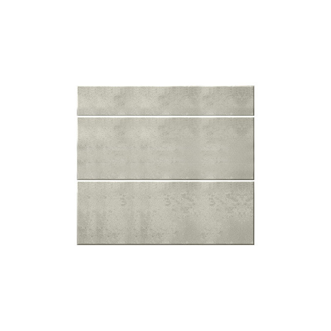 Шкаф кухонный «Мэдисон» 3S/60-51 белый/камень