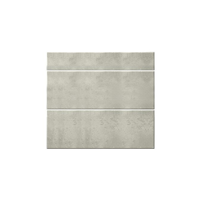 Шкаф кухонный «Мэдисон» 3S/80-46 серый/камень