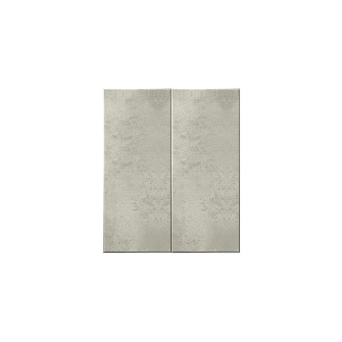 Шкаф под мойку «Мэдисон» 2D/60 серый/камень