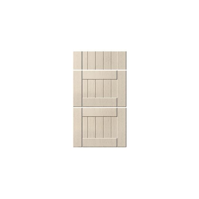 Шкаф «Тапио» 3S/60-46 серый/дуб снежный