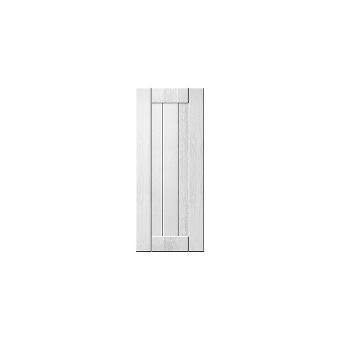 Шкаф «Тапио» настенный 1D/40-29-2 белый/дуб полярный
