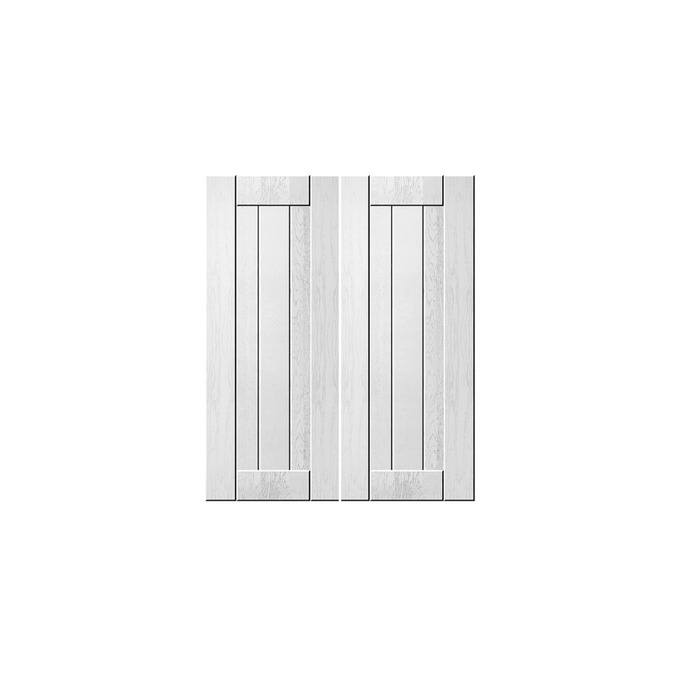 Шкаф «Тапио» для сушки посуды 2D/60 белый/дуб полярный