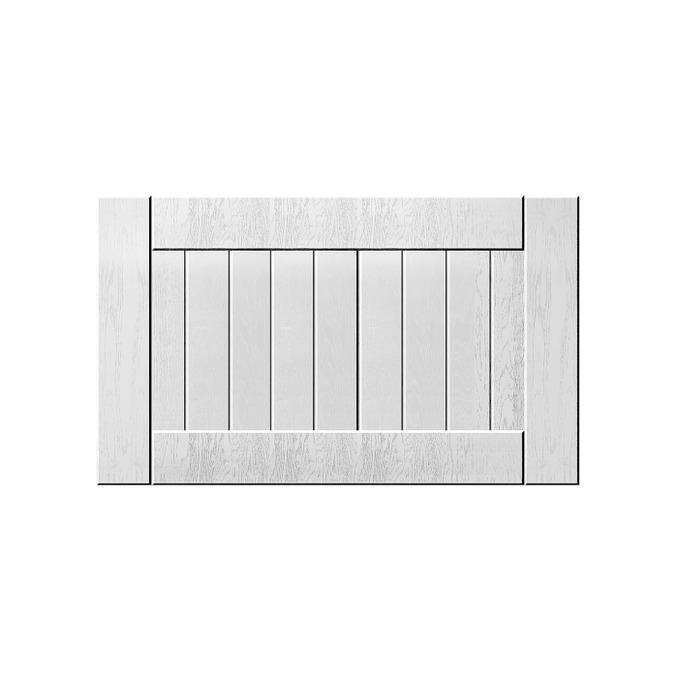 Шкаф «Тапио» настенный 1DG/60-29-2 белый/дуб полярный